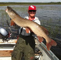 "Uncle Wayne's 27lb Pike, measured 47"" long"